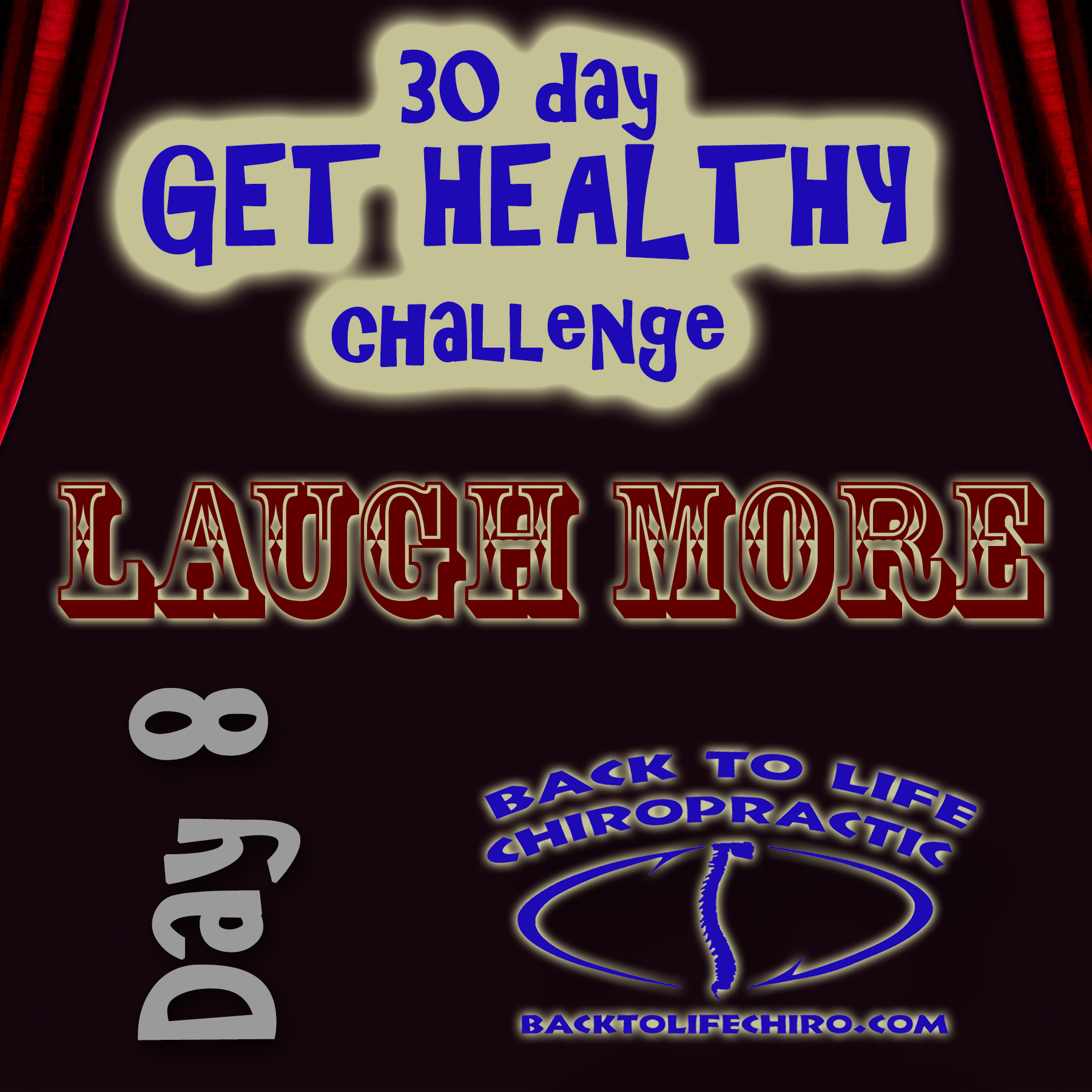 30 Day Get Healthy Challenge, Day 8