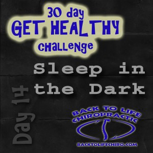 30 Day Get Healthy Challenge, Day 14