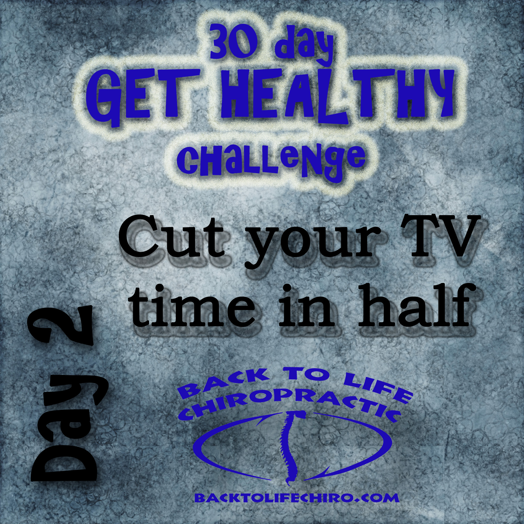 30 Day Get Healthy Challenge, Day 2