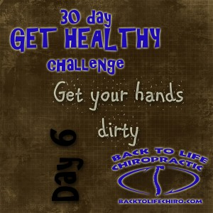 30 Day Get Healthy Challenge, Day 6