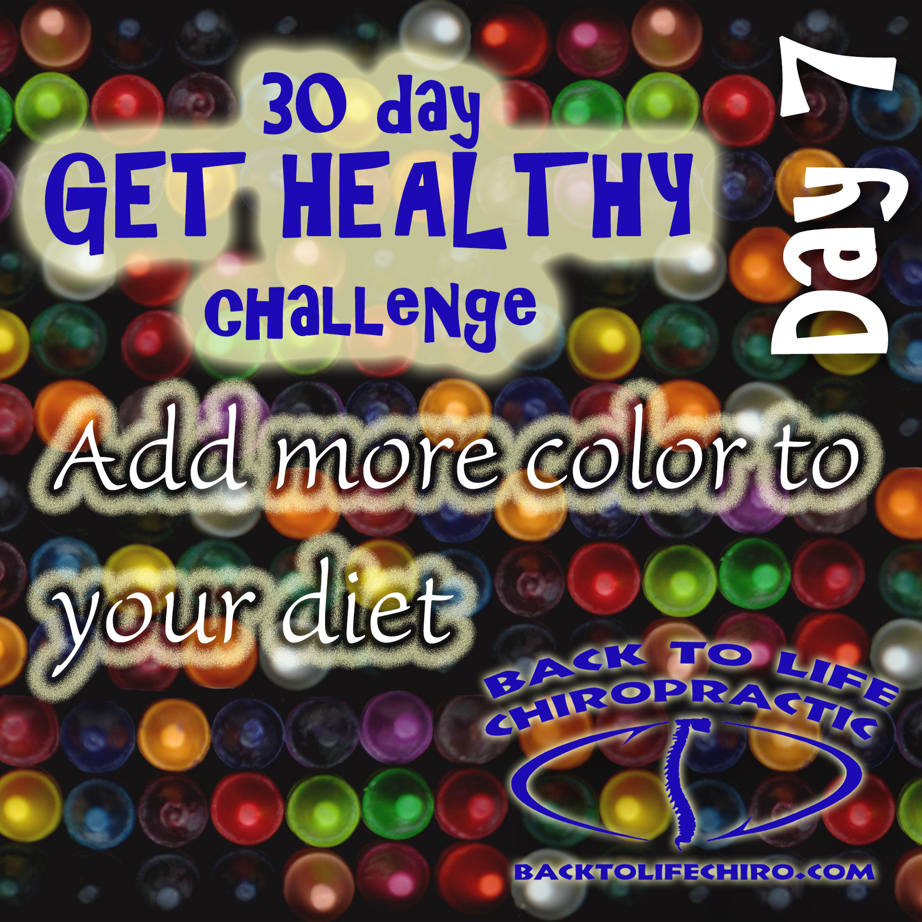 30 Day Get Healthy Challenge, Day 7