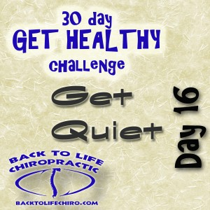 30 Day Get Healthy Challenge, Day 16