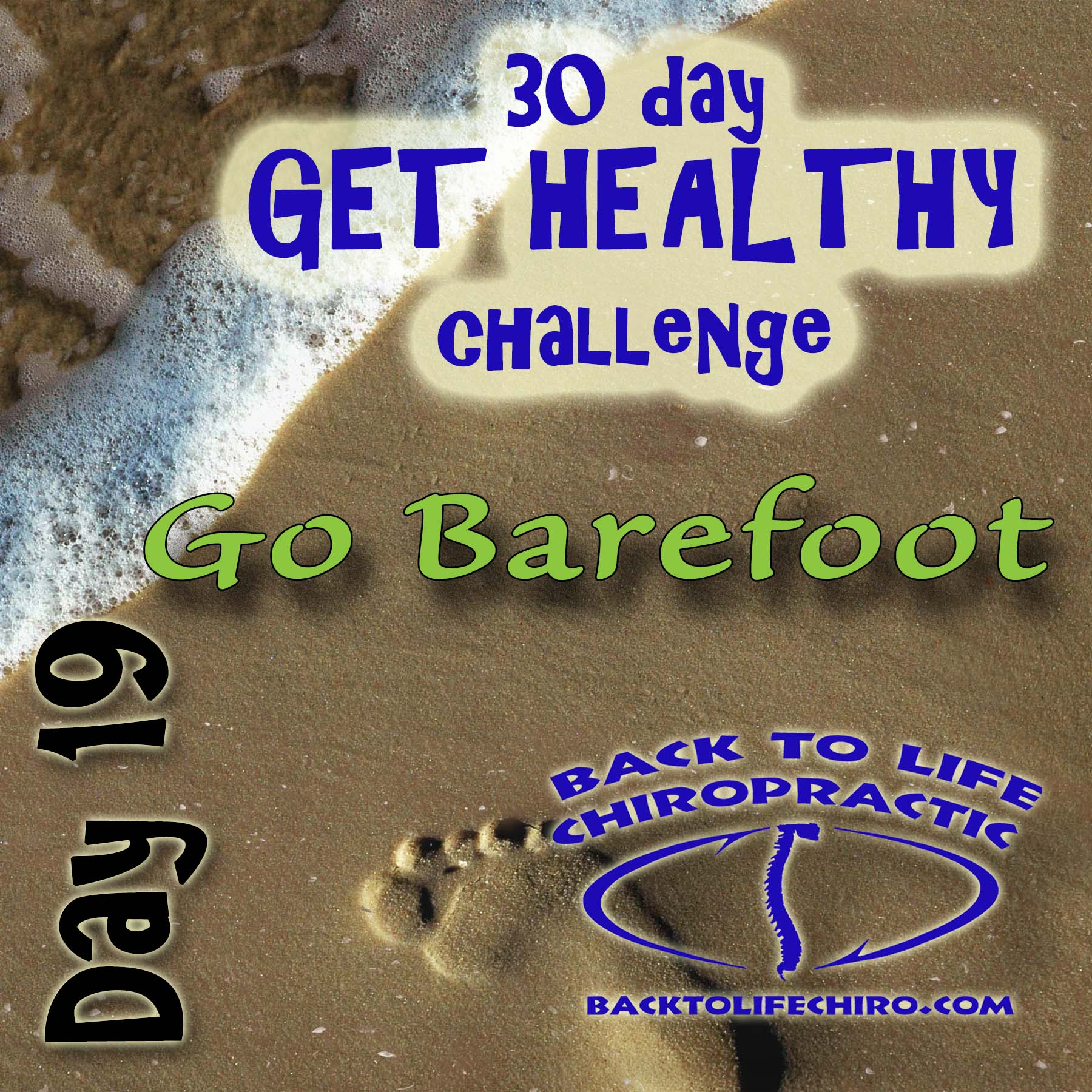 30 Day Get Healthy Challenge, Day 19