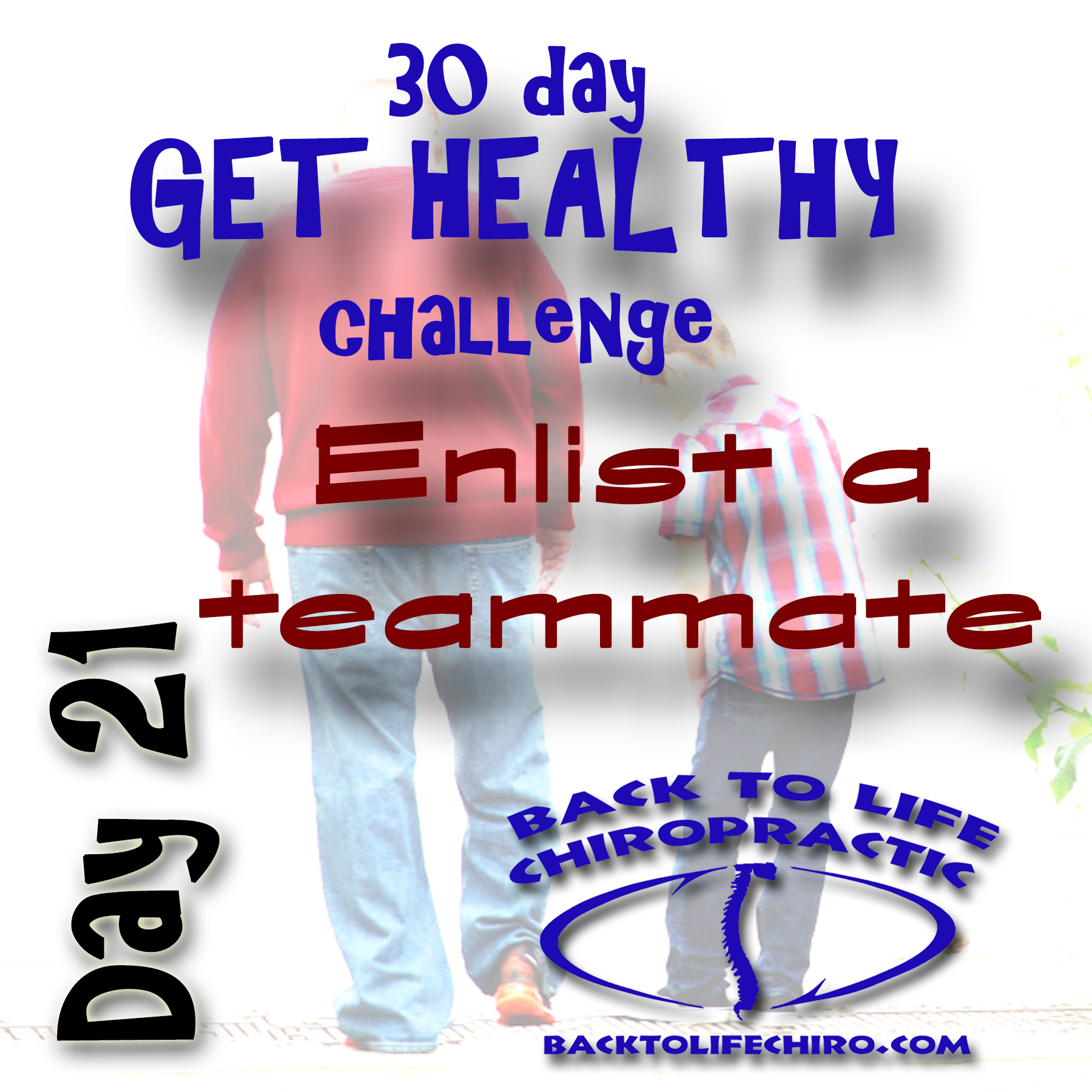 30 Day Get Healthy Challenge, Day 21
