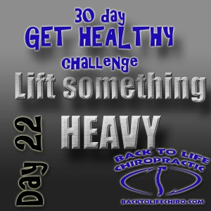 Read more about the article 30 Day Get Healthy Challenge, Day 22