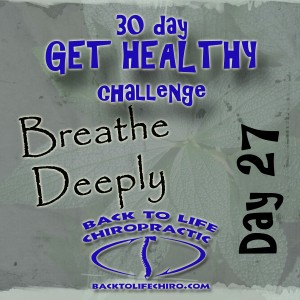Read more about the article 30 Day Get Healthy Challenge, Day 27