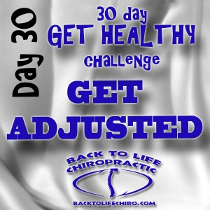 30 Day Get Healthy Challenge, Day 30